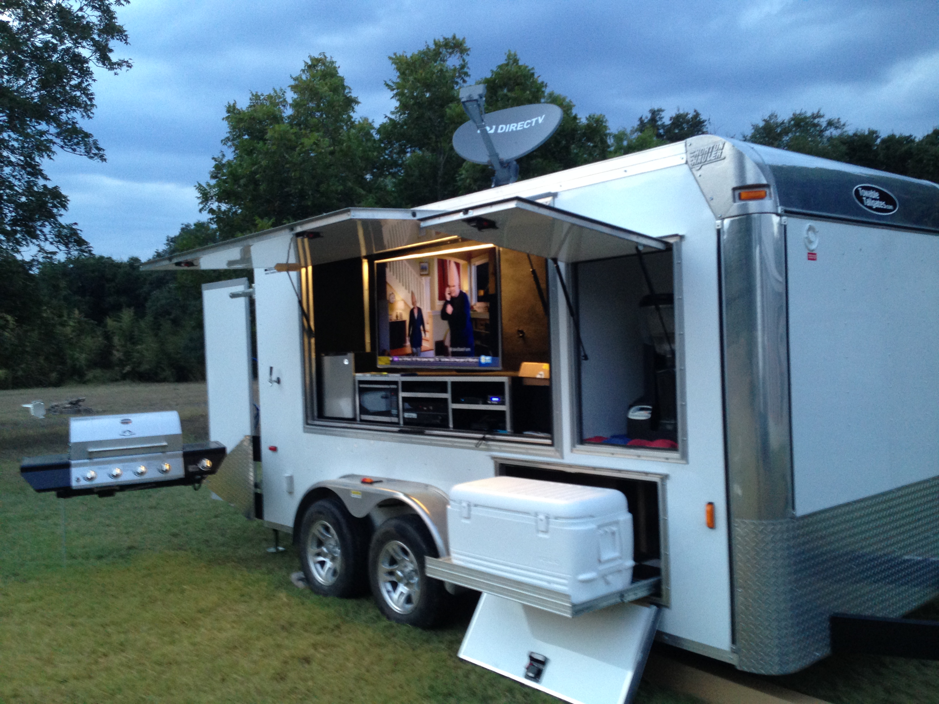 Tailgate Trailers For Rent In Texas Houston Tailgate Rentals